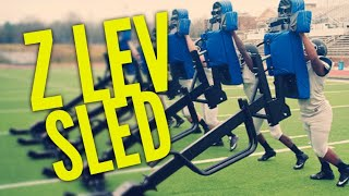 The Z Lev Sled | Football Training Equipment | Rae Crowther