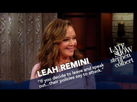 Leah Remini Argues That Scientology Isn't A Religion