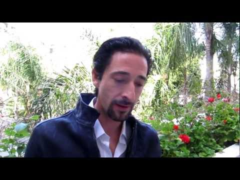 Adrien Brody speaks about his latest film.