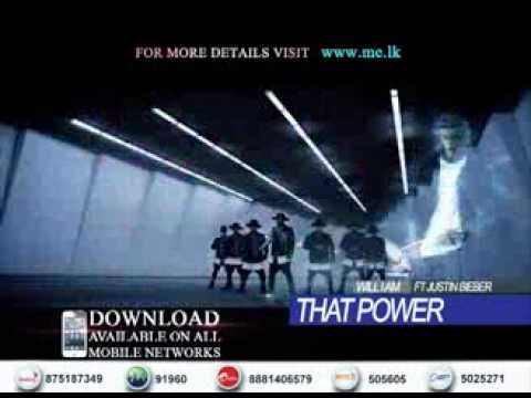 That Power - Will I Am Ft Justin Bieber Sri Lankan Ringtone Trailer