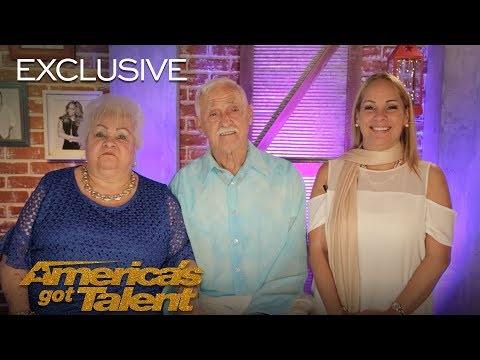 Celina And Filiberto Prove That You Can Dream At Any Age - America's Got Talent 2018