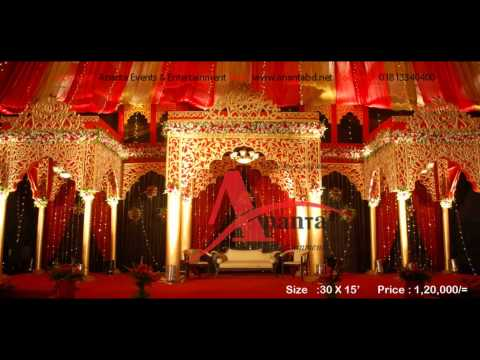 Modern Wedding Stage Design Wedding Stage Design And