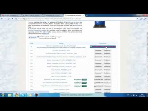 How to Download HP Probook 4530s Drivers
