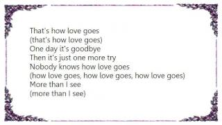 Watch Boyzone Thats How Love Goes video