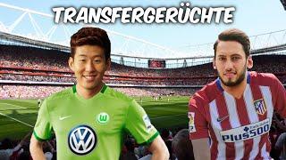 Son zu Wolfsburg ? Calhanoglu zu Atletico Madrid ? Transfers und Transfergerüchte 2016
