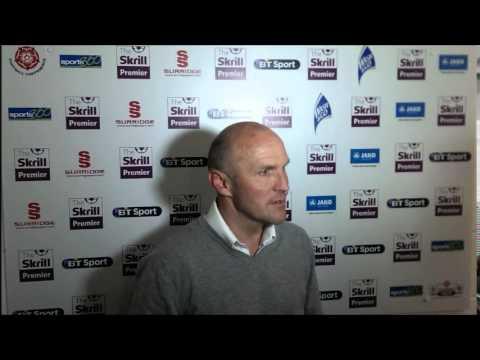 Steve Burr Post Match Interview at Woking