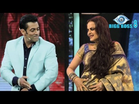 Bigg Boss 8 12th October 2014 Episode 21 | Salman Khan FLIRTS with Rekha