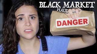 Buying Items from the Black Market (DANGEROUS) | AYYDUBS