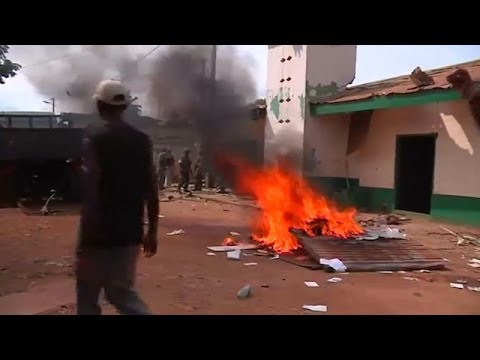 Bangui Youths Loot Mosque in Revenge Attack