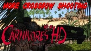 More Crossbow Shooting on Carnivores Dinosaur Hunter HD!