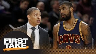 First Take reacts to Tyronn Lue having urged Cavaliers GM to keep Kyrie Irving   First Take   ESPN