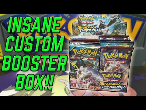 INCREDIBLE Pokemon Custom Booster Box Opening!
