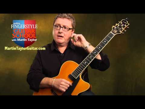 How to Tune a Guitar by Ear - Guitar Tuning Lesson by Martin Taylor