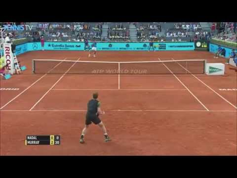 ATP Mutua Madrid Open Final 2015 - Andy Murray v Rafael Nadal highlights