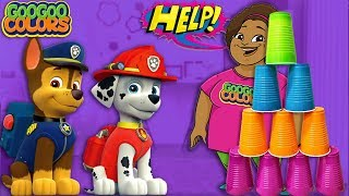 Goo Goo Mom Needs Help! (Goo Goo Gaga Pretend Play Paw Patrol Mighty Jet Command Center)