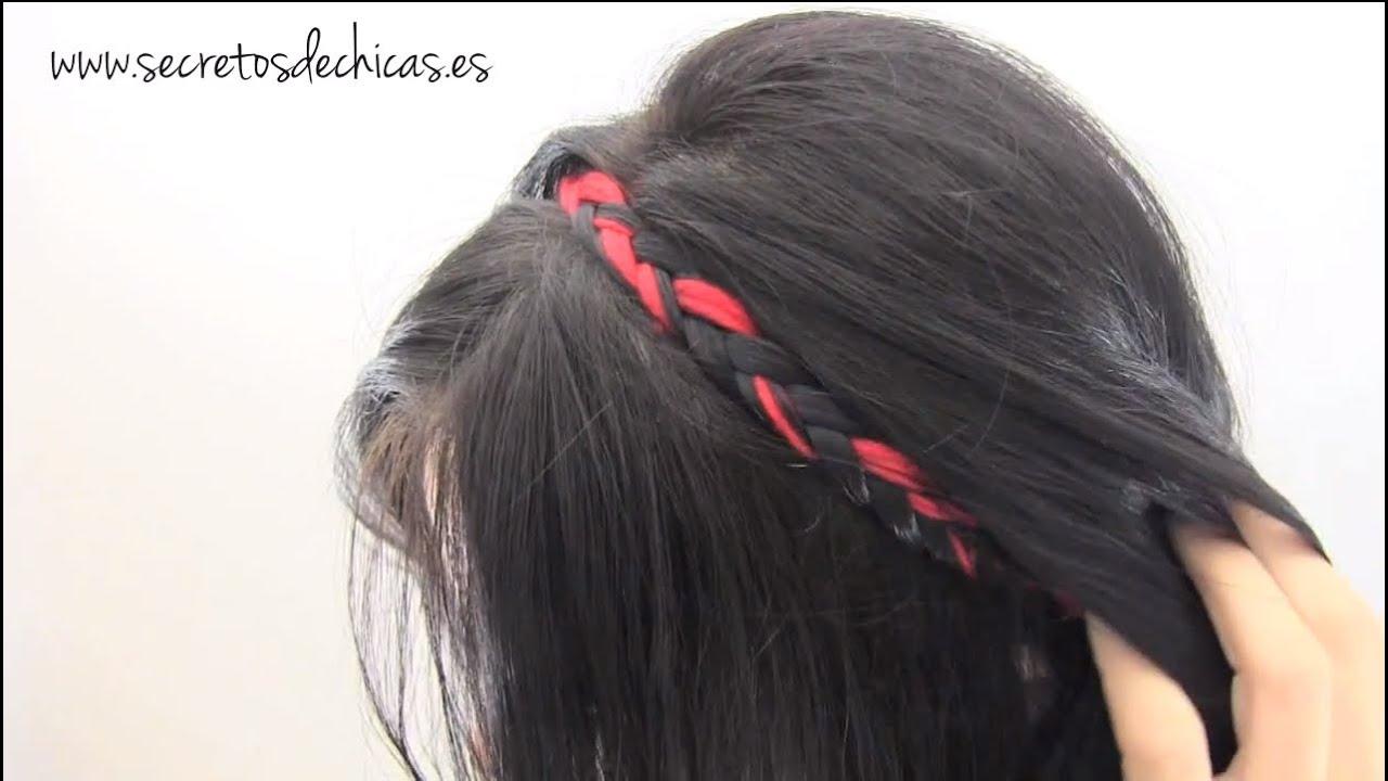Peinados f ciles para cada d a trenzas diademas youtube - Ideas para peinados faciles ...