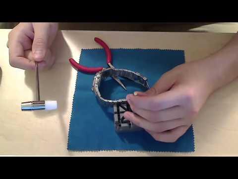 Пошаговая инструкция по укорочению браслета на часах Invicta   INVICTA STORE RU   видео 3