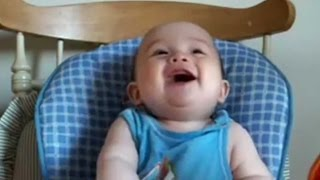 Laugh videos of babies 2018 hd ❤bebes laughing to contagious laughter ❤