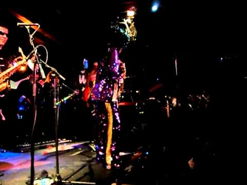 Bootsy Collins @ BB Kings----June 2011----Bootzilla/Roto Rooter