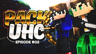 "Minecraft PACK UHC! Episode 2 ""XRAY HACKS?!"" ( Minecraft UHC )"