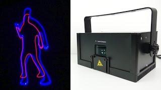 LaserDock - 'World's first Laser Entertainment System'  SETUP & DEMO