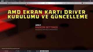 AMD Ekran Kartı Driveri Nasıl Kurulur ve Güncellenir ? ( Radeon Ayarları Gözükmüyor )