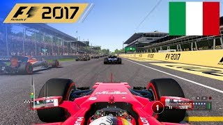 F1 2017 - 100% Race at Autodromo di Monza, Italy in Vettel's Ferrari
