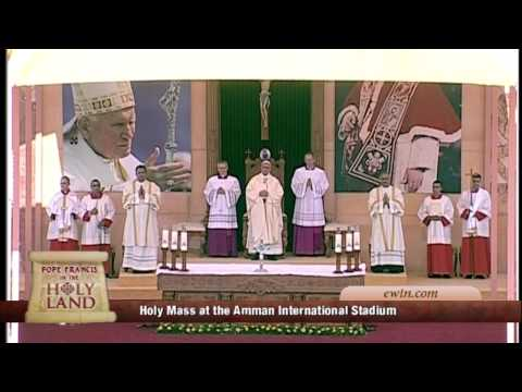 POPE FRANCIS IN THE HOLY LAND - MASS AT INTERNATIONAL STADIUM IN AMMAN, IN JORDAN