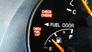 Check Gas Cap Light Fix