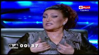 شاهد .. رد فعل نجوى فؤاد على «إرضاع عمرو أديب»