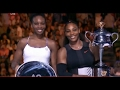 Australian Open 2017 Women's  Final - The Williams War - Serena Williams vs Venus Williams