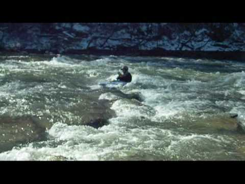 Winter Surfing on Elkhorn Creek