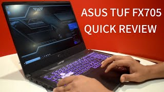 ASUS Tuf FX705 Gaming Laptop : Powerful Beast at affordable cost