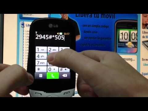Liberar LG T505 Ego. desbloquear LG T505 Ego de Vodafone - Movical.Net