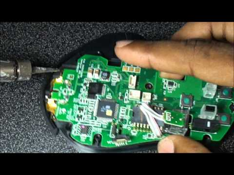 Logitech MX Revolution Laser Mouse., Disassembly Guide.