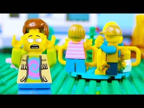 LEGO City Babysitting Fail STOP MOTION LEGO Park Fun Day with Friends | LEGO City | By Billy Bricks