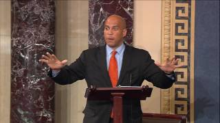 Cory Booker Speaks on Senate Floor Against AHCA - Part 1/2