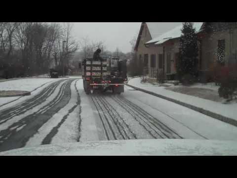 De-icing roads with Magic Salt