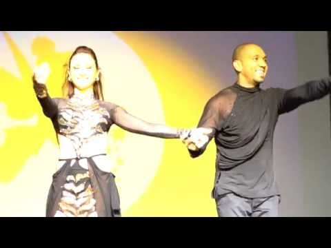 00063 RZCC2016 Larissa and Kadu in performance ~ video by Zouk Soul