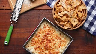 Alfredo Dip With Lasagna Chips • Tasty