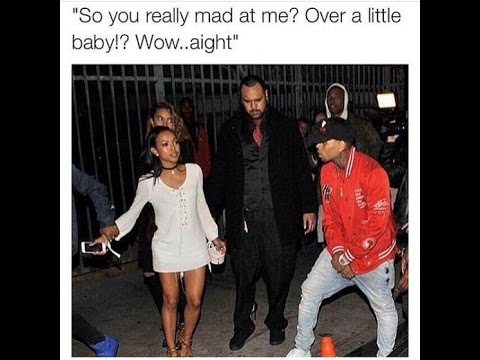 Black Twitter DRAGS Chris Brown For Forcing His Way Into Karrueche  SUV