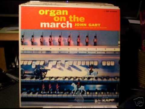 ' Organ On The March ' - John Gart at the CONN Electronic Organ with the Minutemen