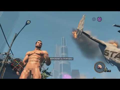 First Délire sur Saints Row The Third - Nu à 99%