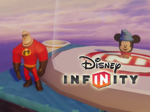 Disney Infinity - SUPER GOOF Toy Box Level Showcase - Gameplay (HD)