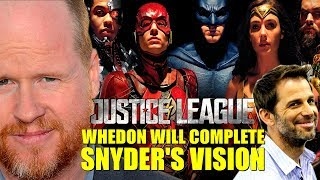 Whedon Will Complete Snyder
