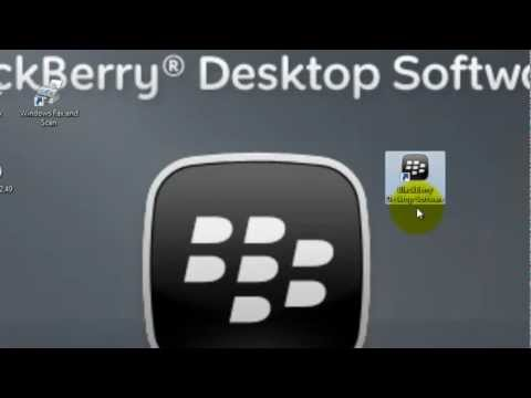 Actualizar tu OS de Blackberry usando BlackBerry Desktop Software