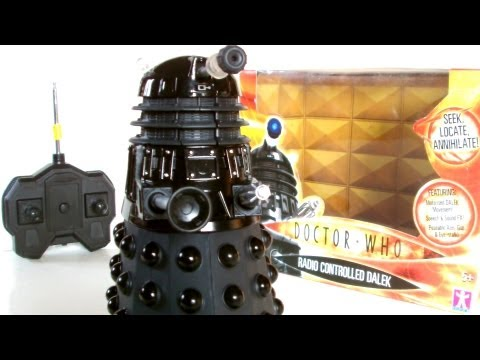 DALEKCEMBER RC Dalek Sec Toy Review   Votesaxon07