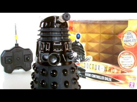 DALEKCEMBER RC Dalek Sec Toy Review | Votesaxon07