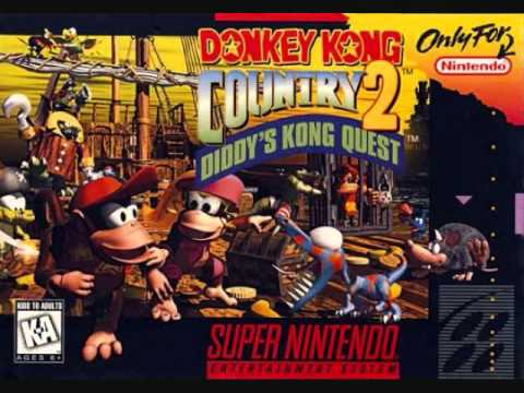 David Wise - Donkey Kong Country 2 - Lava Theme