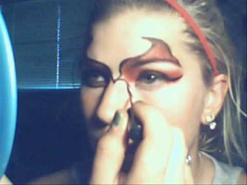 Devil Halloween Makeup For Women Halloween She Devil Makeup